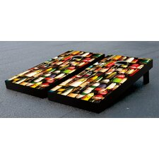 Floats Collage Cornhole Bean Bag Toss Game