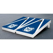 NCAA Triangle Wooden Version 2 Cornhole Game Set