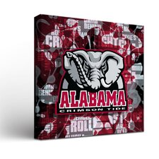 NCAA Fight Song Framed Graphic Art on Wrapped Canvas