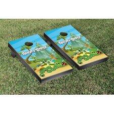 Angry Birds Pig Island Version Cornhole Game Set