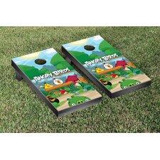 Angry Birds Jungle Version Cornhole Game Set