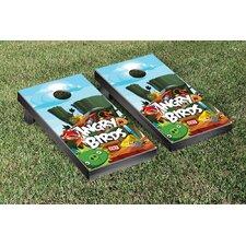 Angry Birds Cliffside Version Cornhole Game Set