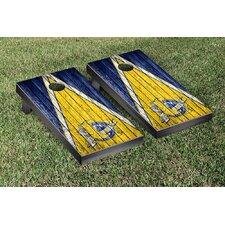 NCAA Weathered Triangle Version Cornhole Game Set