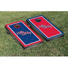 NCAA Mississippi Ole Miss Rebels Hotty Toddy Version Cornhole Game Set