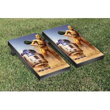 Star Wars R2-D2 & C-3PO Version Cornhole Game Set