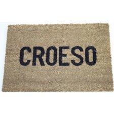 Croeso Message Doormat