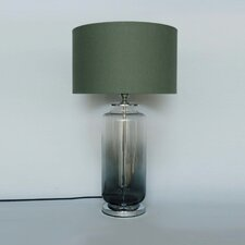 "Two Tone Glass 17.9"" Table Lamp"