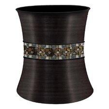 Mosaic Rainbow Waste Basket