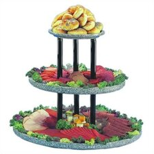 Chefstone 3 Tier Display Riser Tiered Stand