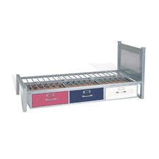 Locker Twin Slat Bed