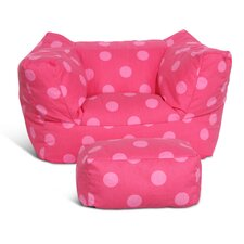 Fun Factory Junior Chair and Ottoman Set