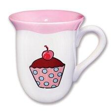 Everyday Cupcake Polka Dots Mug (Set of 4)