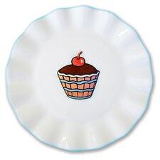 "Everyday Cupcake 7"" Ruffles Plate (Set of 4)"