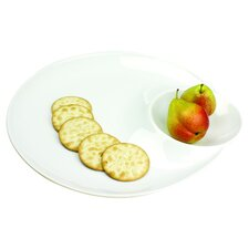 Entertainment Serveware Modern Clam Shell Platter