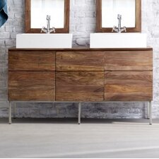 Nova 155cm Double Vanity Set