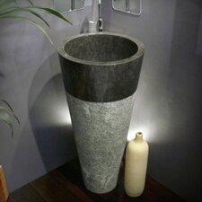 Koni Marble 40 cm Full Pedestal Sink