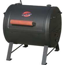 """18.1"""" Charcoal Grill with Side Fire Box"""