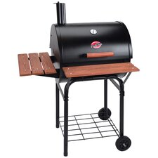 "50"" Wrangler Charcoal Grill with Round Leg"