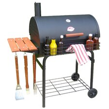 """30.5"""" Pro Deluxe Charcoal Grill"""