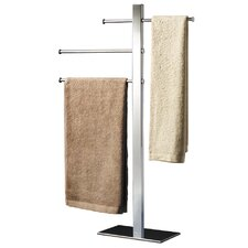 Bridge Freestanding Towel Rack