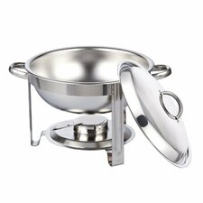 5-qt. Round Chafing Dish Chafer with Lid