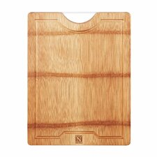 Natural Bamboo Cutting Board Reversible with Handle