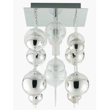 Morfeo 1 Light Semi Flush Ceiling Light
