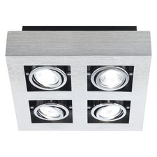Loke 4 Light Flush Mount