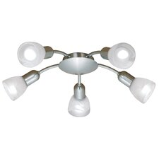Dakar 5 Light Semi Flush Mount