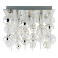 Morfeo 5 Light Semi Flush Ceiling Light