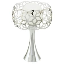 "Oxana 12.88"" H Table Lamp with Sphere Shade"