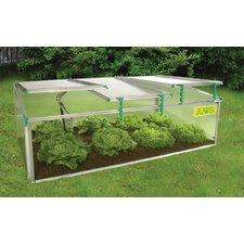 BioStar 2.5 Ft. W x 5 Ft. D Plastic Cold Frame Greenhouse