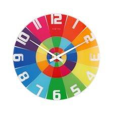 Wanduhr Rainbow 43 cm
