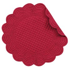 Reversible Round Quilt Placemat (Set of 6)