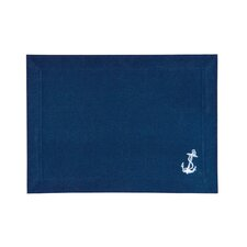 Coastal Anchor Canvas Placemat (Set of 6)