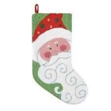 Jolly Santa Stocking