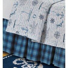Fair Winds Tartan Plaid Bed Skirt