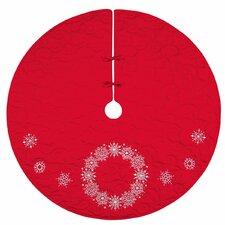 Snowflake Wreath Tree Skirt