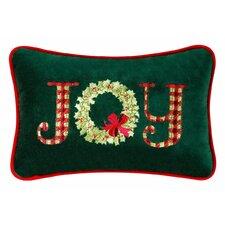 Joy Velvet Cotton Lumbar Pillow (Set of 2)