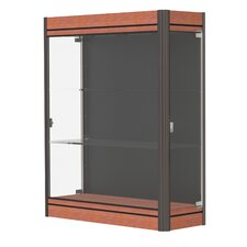 Contempo Series Lighted Wall Display Case