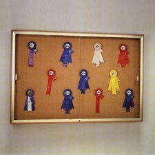 Legacy Series 88 Case Wall Mounted Magnetic Bulletin Board
