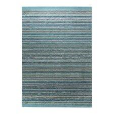Handgetufteter Teppich Samba in Blau