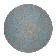 Wohnteppich Oriental in Blau