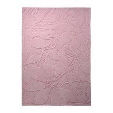 Handgetufteter Teppich Lily in Rosa