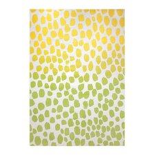 Teppich Snugs in Gelb/Grün