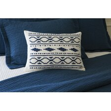 Britten Embroidered Linen Boudoir Pillow