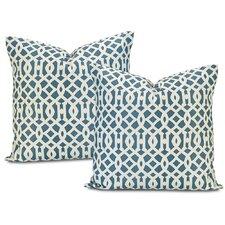 Nairobi De Printed Cotton Throw Pillow Cover (Set of 2)