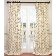 Tunisia Semi-Opaque Single Curtain Panel