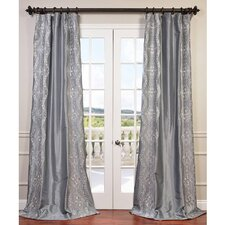 Chai Taffeta Semi-Opaque Single Curtain Panel