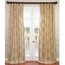 Ankara Taffeta Semi-Opaque Single Curtain Panel